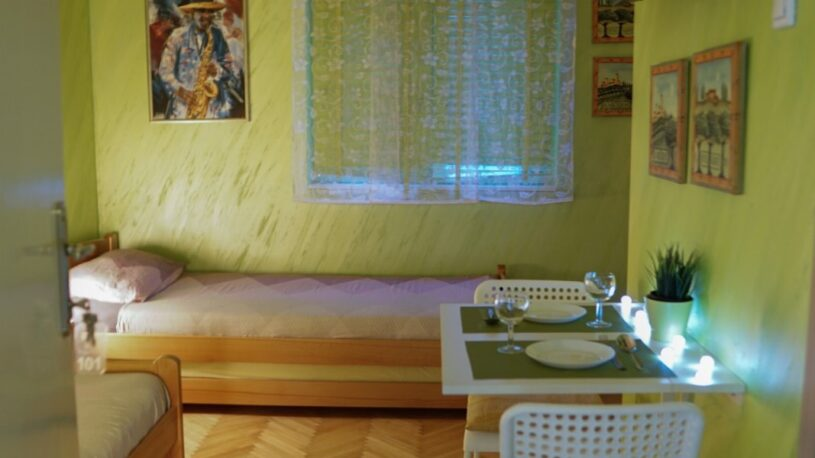 slika apartmana s vrata
